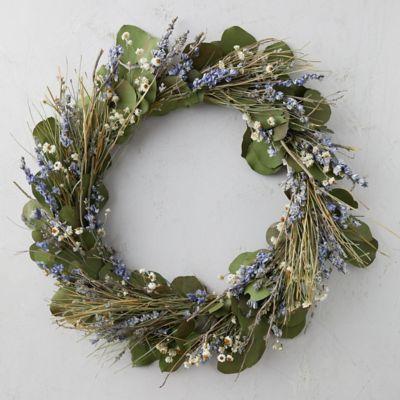 Lavender + Eucalyptus Wreath