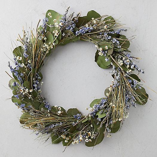 View larger image of Lavender + Eucalyptus Wreath