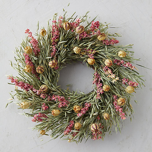 View larger image of Larkspur + Nigella Wreath