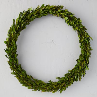 Myrtle Branch Wreath