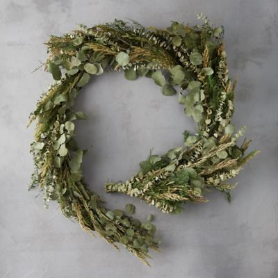 Dried Eucalyptus + Caspia Garland