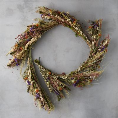 Dried Wild Flower Garland