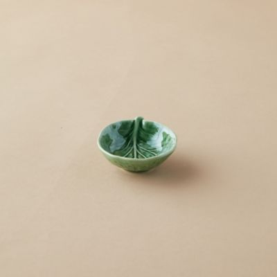 Ceramic Cabbage Salt Cellar