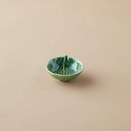 View larger image of Ceramic Cabbage Salt Cellar