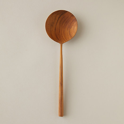 View larger image of Teak Serving Spoon