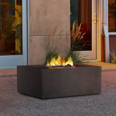 Real Flame Baltic Natural Gas Fire Table, Square