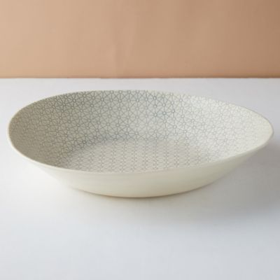 Color Washed Serving Dish, Large
