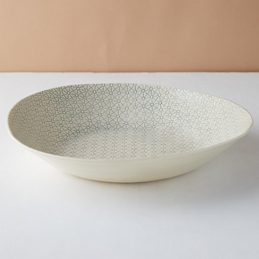 View larger image of Color Washed Serving Dish, Large