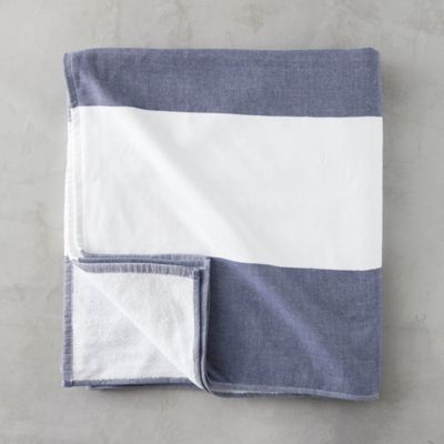 Block Stripe Beach Towel
