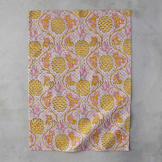 View larger image of Pineapple Rose Tea Towel