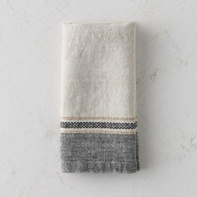 Washed Linen Stripe Napkin