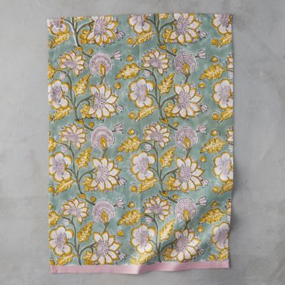 Blooming Ivy Tea Towel