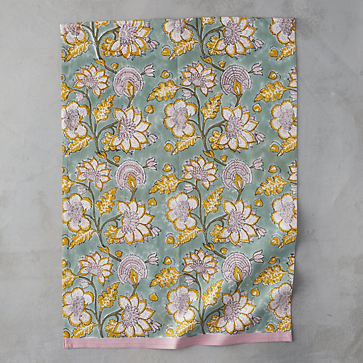 View larger image of Blooming Ivy Tea Towel