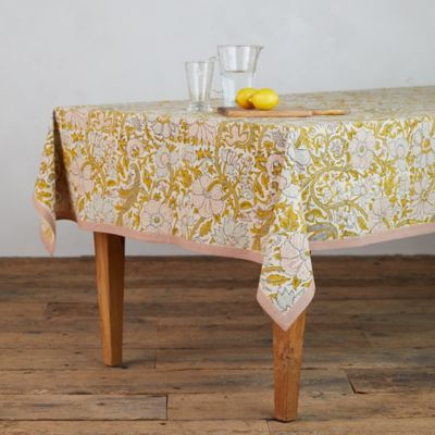 Rose Peacock Tablecloth