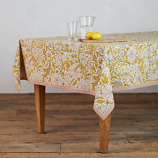 View larger image of Rose Peacock Tablecloth