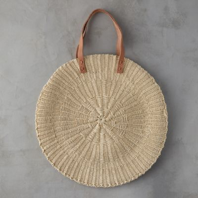 Oversized Circle Tote