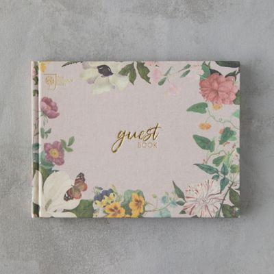 Floral Guest Book