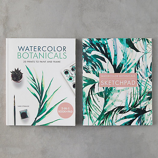 View larger image of Watercolor Botanicals