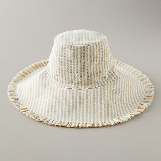 View larger image of Fringed Canvas Sun Hat
