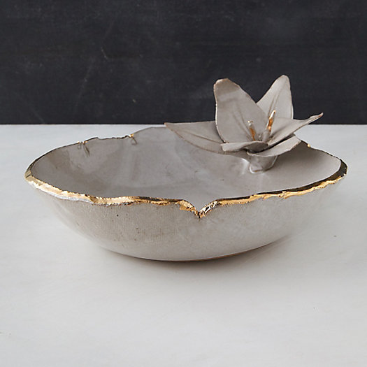 View larger image of Lily Stoneware Serving Bowl