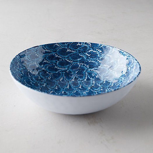 View larger image of Color Burst Melamine Serving Bowl