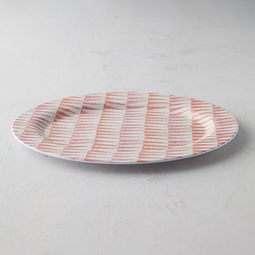 View larger image of Color Burst Melamine Serving Plate