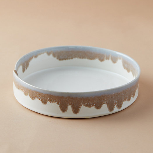 View larger image of Color Drip Ceramic Serving Bowl