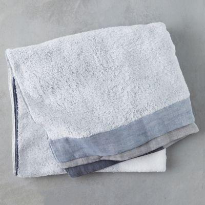Colorblocked Japanese Bath Towel