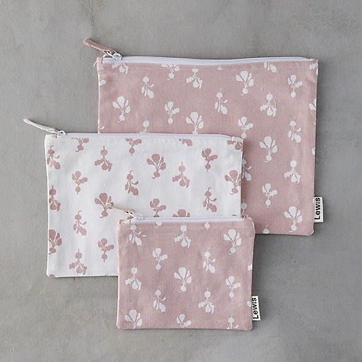 View larger image of Floral Pouch Set