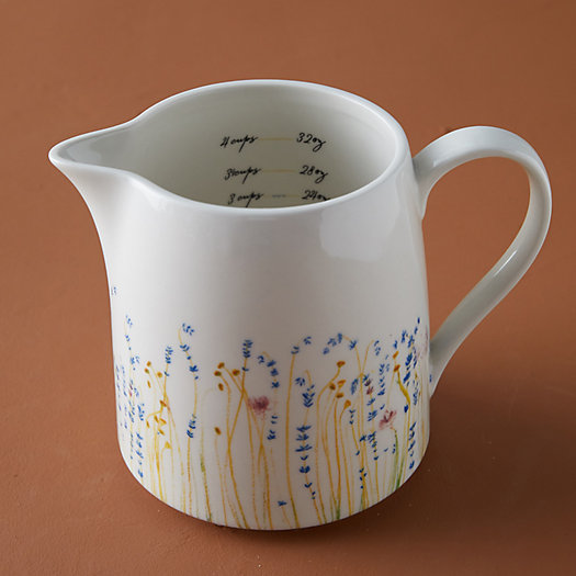 View larger image of Floral Ceramic Measuring Cup