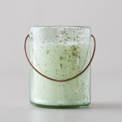 Hanging Bubble Glass Citronella Candle