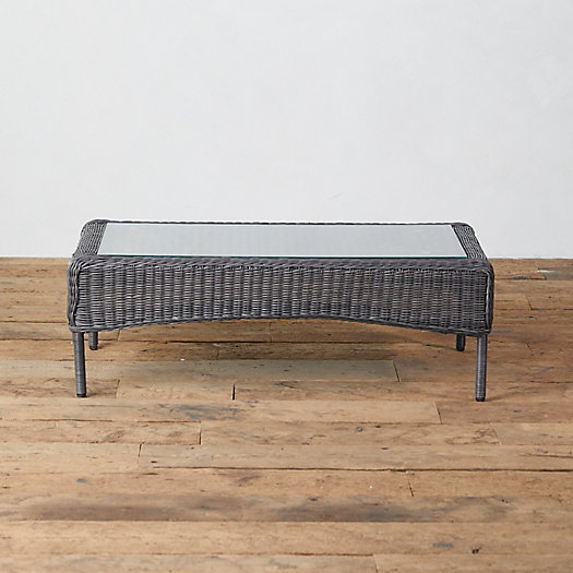 View larger image of Middlefield Wicker Coffee Table