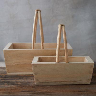 Paulownia Wood Basket