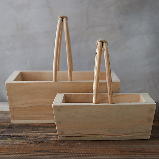 View larger image of Paulownia Wood Basket