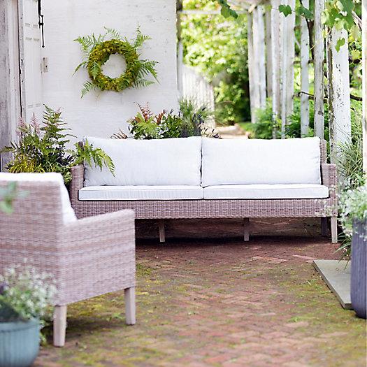 View larger image of Ridgeline Wicker + Teak Two Seat Sofa