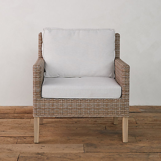 View larger image of Ridgeline Wicker + Teak Chair
