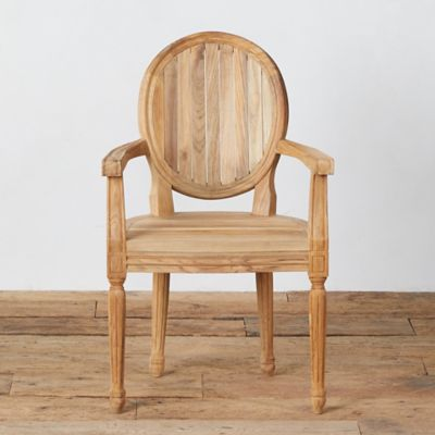 Oval Back Dining Armchair