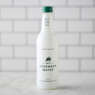 Sparkling Rosemary Water