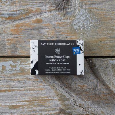 Sea Salt + Dark Chocolate Peanut Butter Cups
