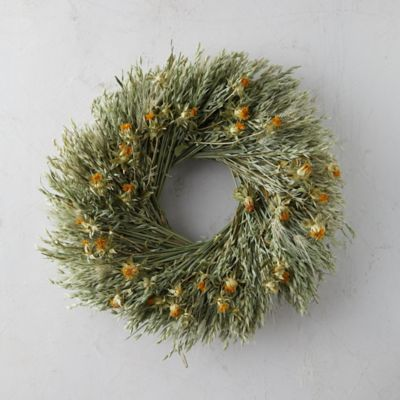 Avena + Safflower Wreath