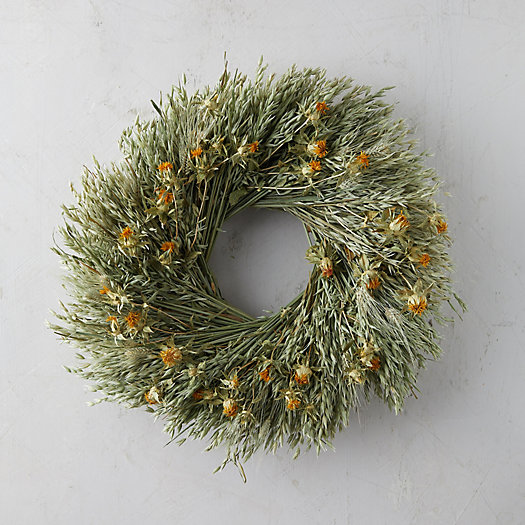 View larger image of Avena + Safflower Wreath