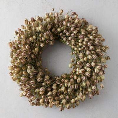 Nigella Wreath