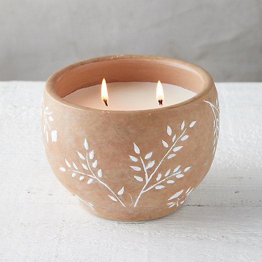 View larger image of White Sprigs Citronella Candle