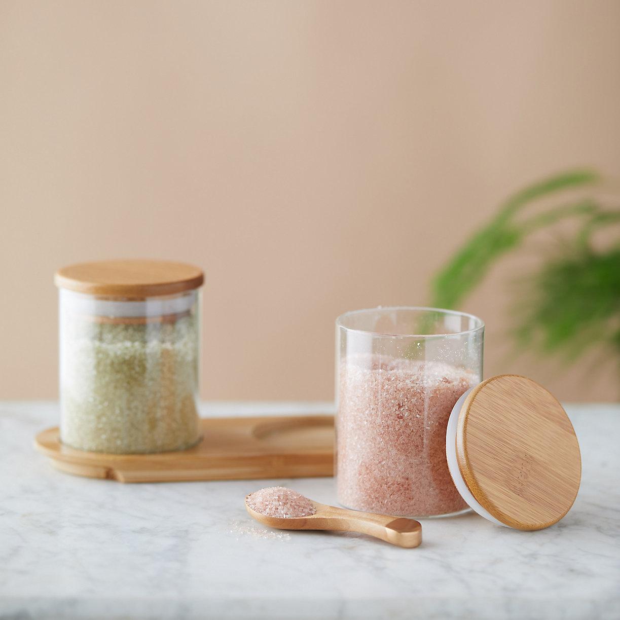 Lavender Citrus + Matcha Mint Bath Salt Duo - Terrain