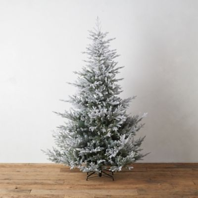 Snowy Faux Norway Spruce