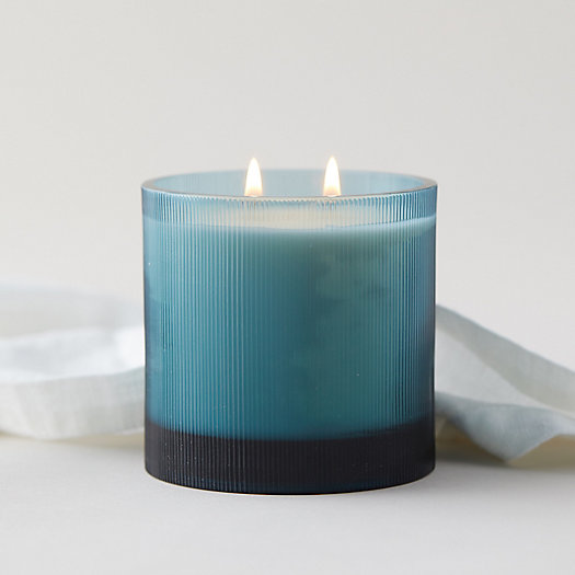 View larger image of Linnea's Lights Candle, Belgian Linen