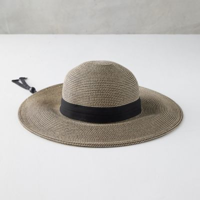 Braided Brim Sun Hat