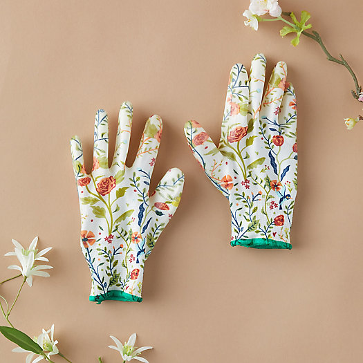 View larger image of Floral Garden Weeder Gloves
