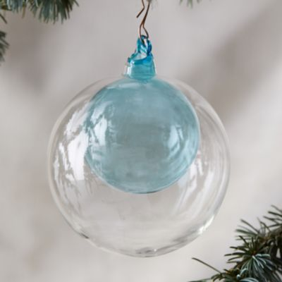 Glass Bauble in Bauble Ornament