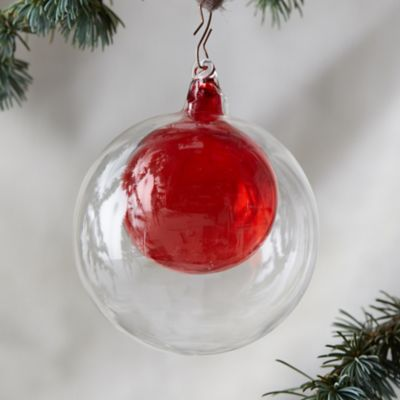 Color Bauble in Bauble Ornament